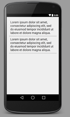 How to Add a horizontal line in Android Layout - Code2Care