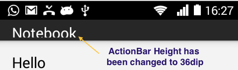 Change Height of Android ActionBar.png