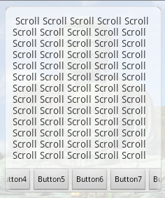 ScrollBar hidden for HorizontalScrollView