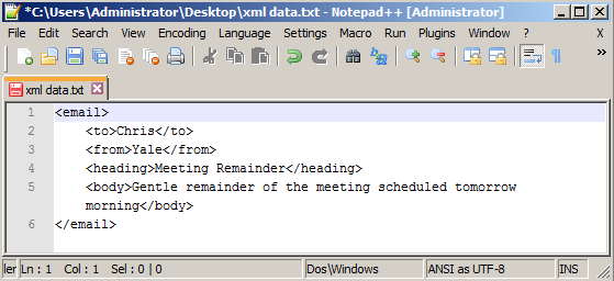 Result - XML file Prettified using Notepad++.png