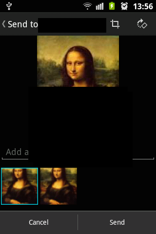 Share Multiple Images with WhatsApp Android Intent