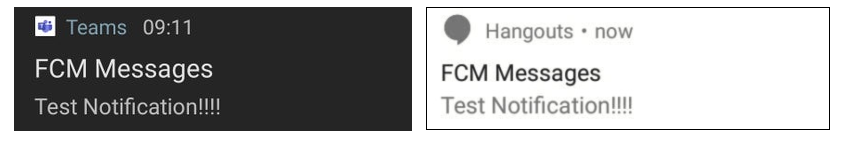 Microsot Teams Google Hangout - FCM Messages Test Notification.png