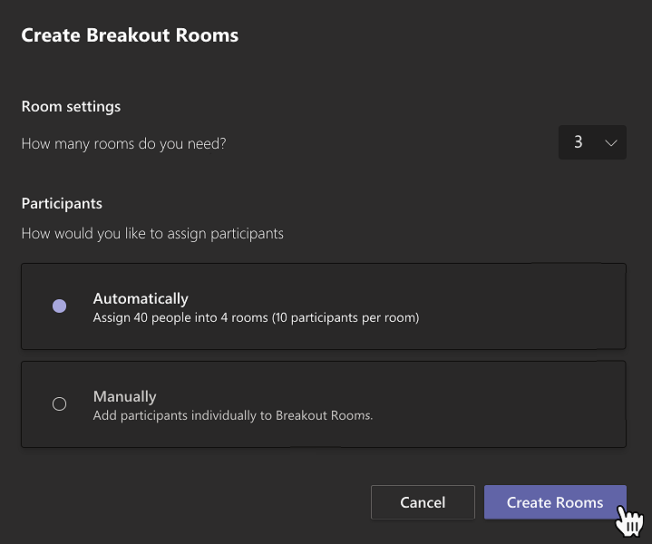 Create Teams Breakout room.PNG