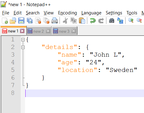 Prettify JSON in Notepad++