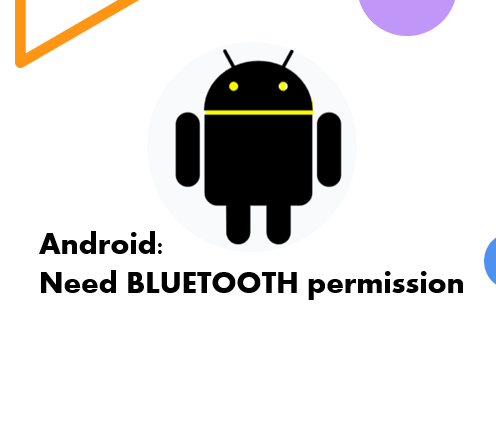 Android Admin Bluetooth error